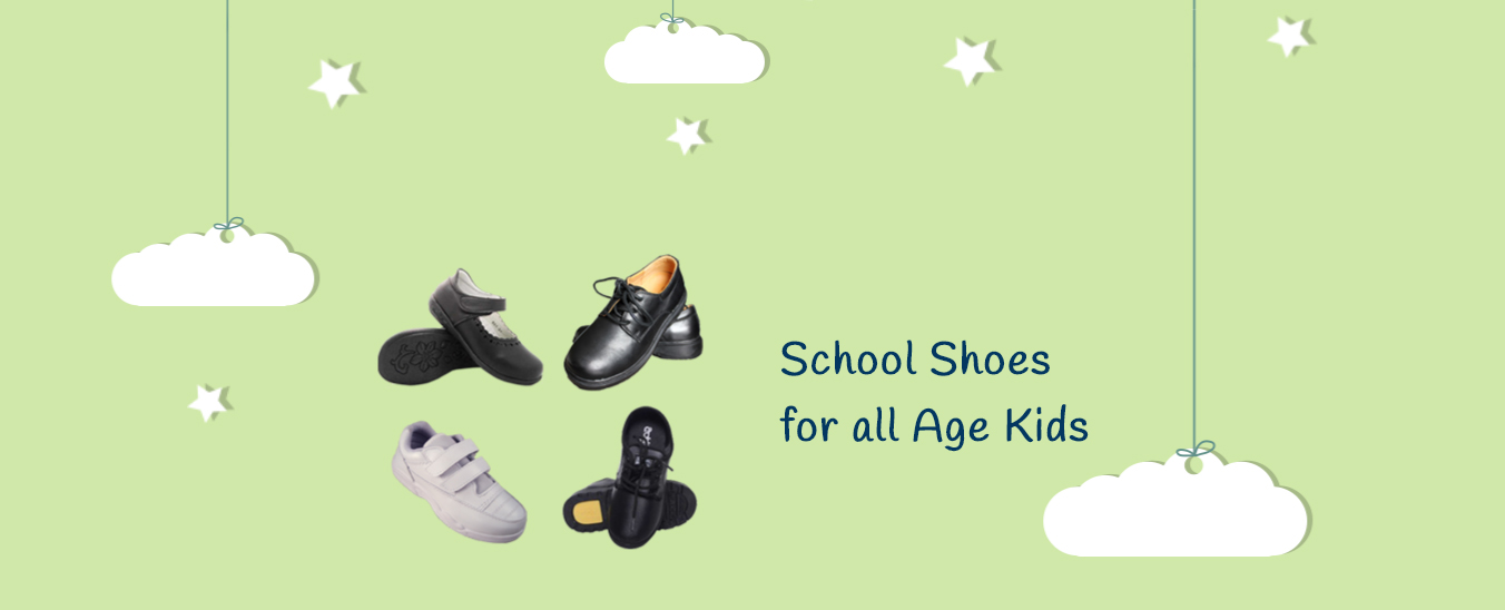 School Shoes for all Age Kids